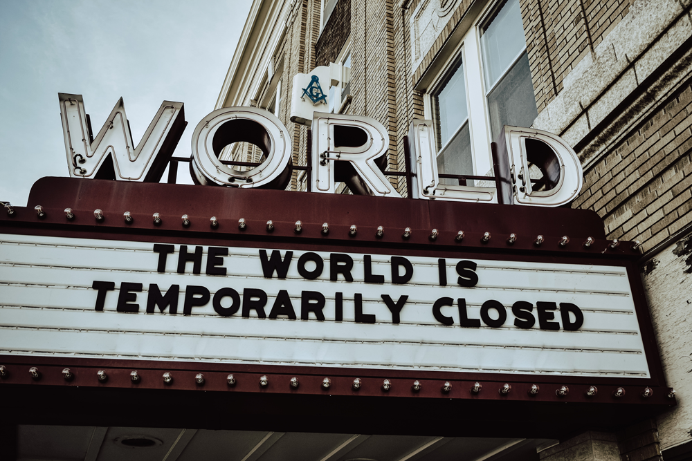 The world is temporarily closed...but should you still be marketing during a pandemic?