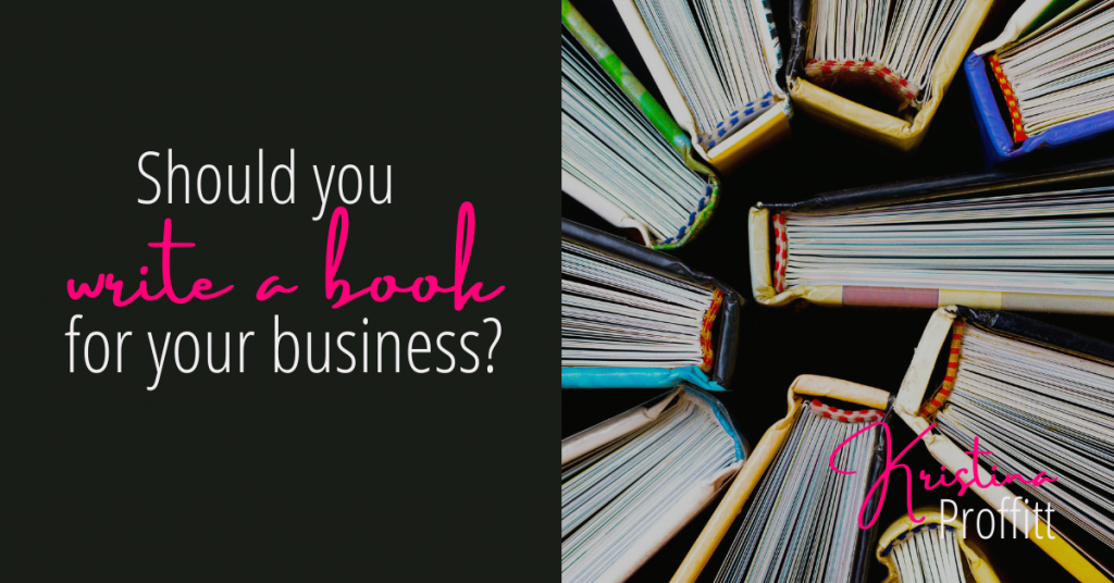 Should you publish a book for your business?