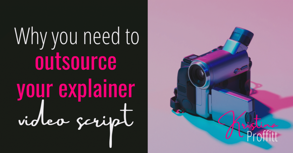 Why you need to outsource your explainer video script