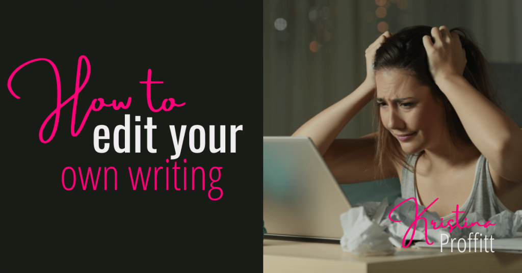 How to edit your own writing social share image