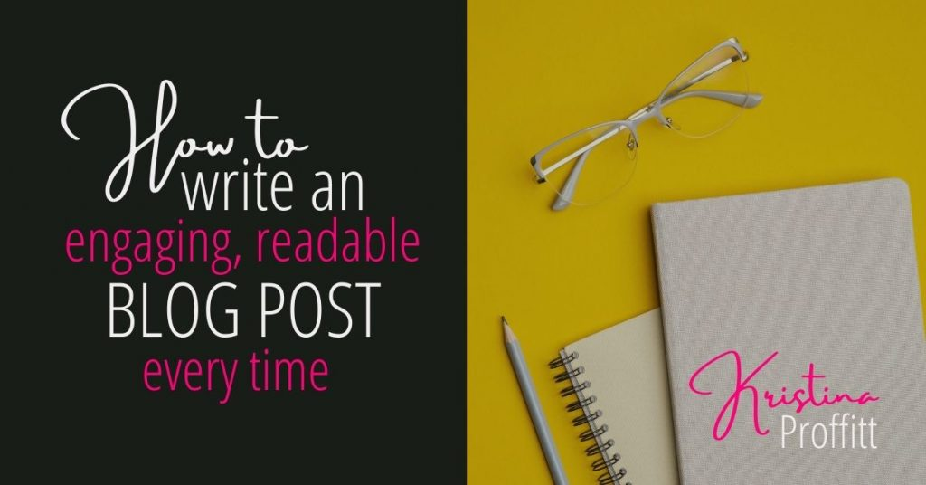 How to write an engaging, readable blog post every time social share image